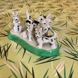 Vintage Ceramic Scottish Terrier Dog Figurine
